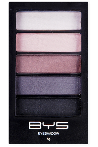 <b>BYS 5 Piece Eye Shadow - Smokey Chic</b>